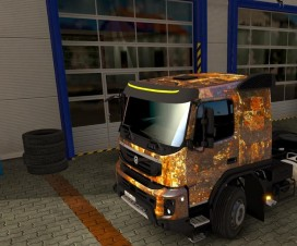 rust skin for volvo fmx 540 1