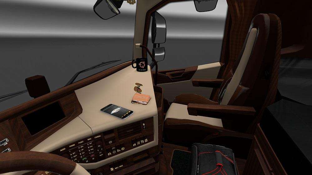Volvo fh 2012 luxury interior ets2 mods for Interior design simulator
