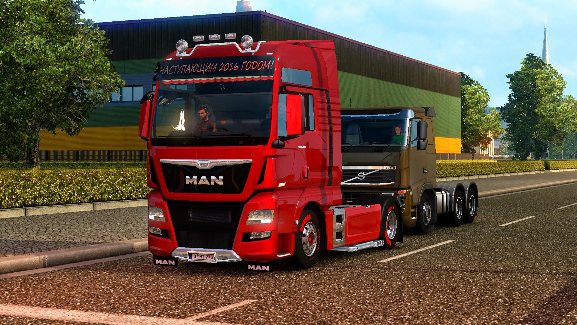 man tgx and tgx euro 6 reworked ets2 mods. Black Bedroom Furniture Sets. Home Design Ideas