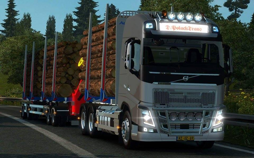 Volvo FH 2013 Timber 1.22 | ETS 2 Mods Scania Trucks Interior