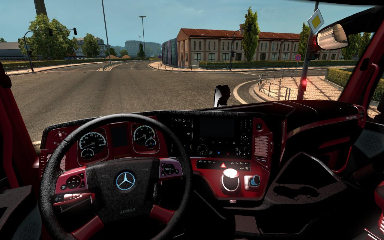 Mercedes Mp4 Black Red Interior 1 22 Ets2 Mods