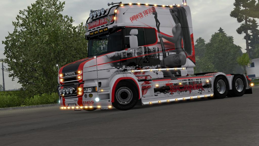 Scania rjl white interior ets 2 mods - Scania Trucks New 2016 Related Keywords Amp Suggestions