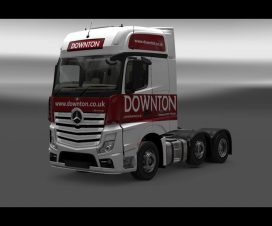 Downton delivers Truck skin Pack 111