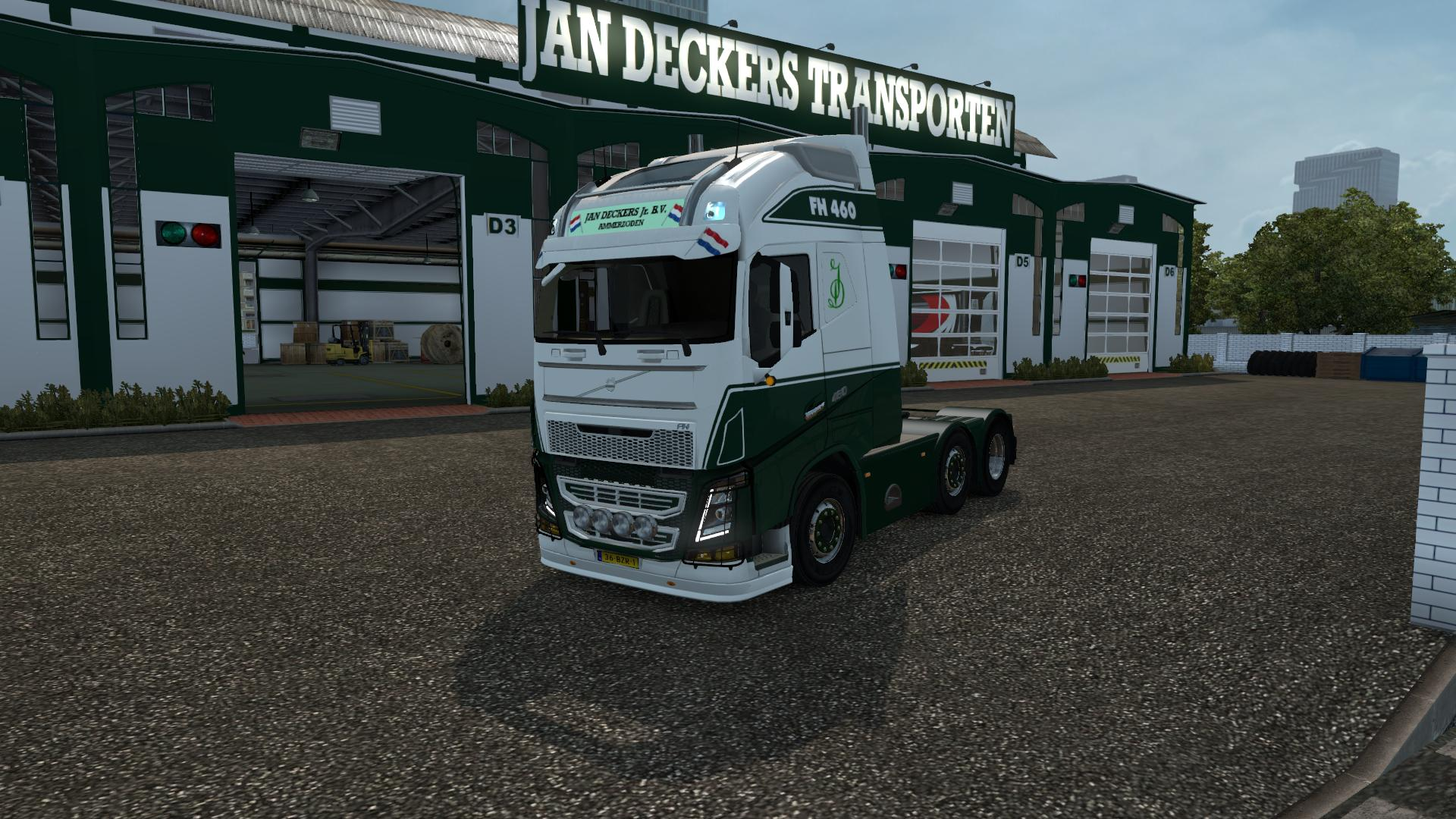 Jan Deckers - Volvo FH 2013 Ohaha 1.23 | ETS2 Mods