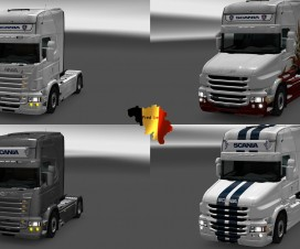 Lightbox for Scania RJL 122 & 1.23