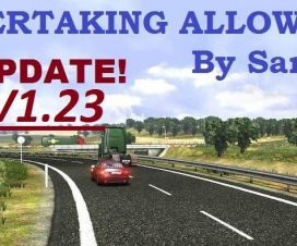 NEW Overtaking ALLOWED