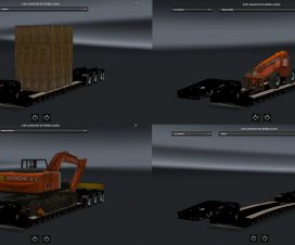 Pack Trailers Usa ETS2