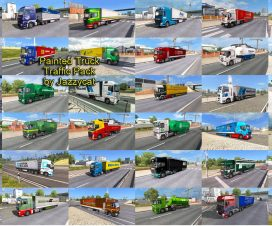 Painted Truck Traffic Pack by Jazzycat v2.2.1