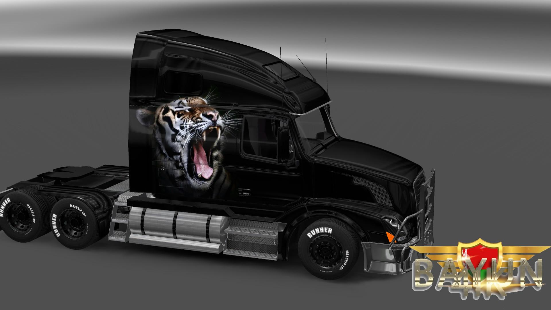 Volvo VNL 670 Royal Tiger Skin