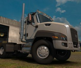 ets2 CAT CT660 v1 Fixed