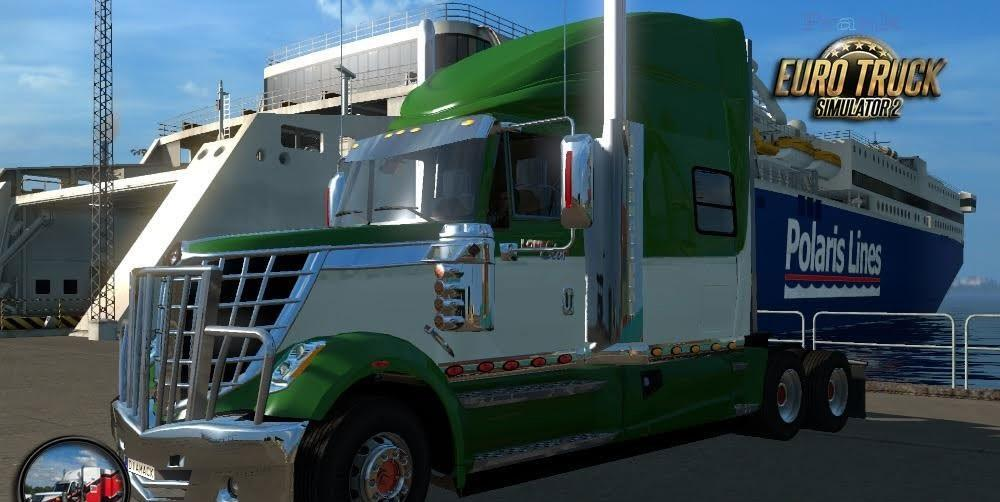 ets2 International LoneStar Tractor Truck
