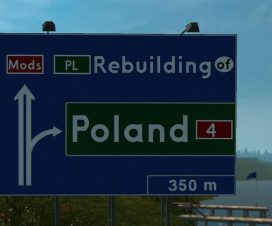 ets2 Rebuilding of Poland V4