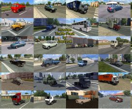 ets2 Russian Traffic Pack by Jazzycat v1.5.1