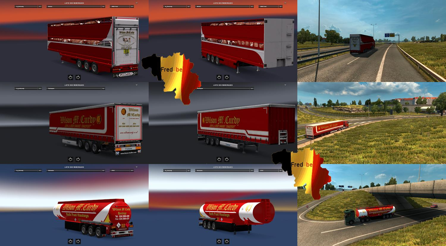Trailer Pack Wilson Mc Curdy Version 1 23 Ets2 Mods