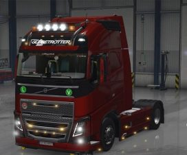ets2 Volvo FH16 2012 Edit Fix + Cabin Accessories DLC 1.23