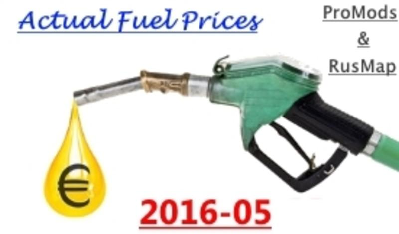 Actual Fuel Prices – ProMods&RusMap