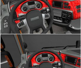 DAF XF Euro 6 Red Interior 1.23