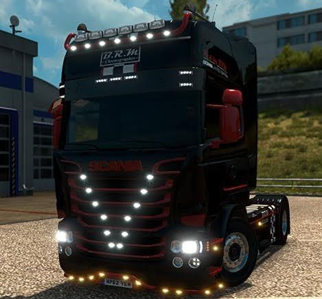 Scania B.R.M Limited Edition v1.1