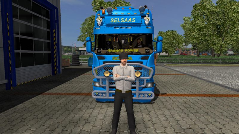 Scania So Pretty B8 v2 + DLC 1.23