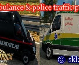 Ambulances and police in traffic 1.24.0 beta