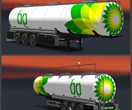 BP Tanker Trailer