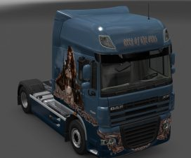 DAF XF 105 Queen of the Orcs skin 1.23