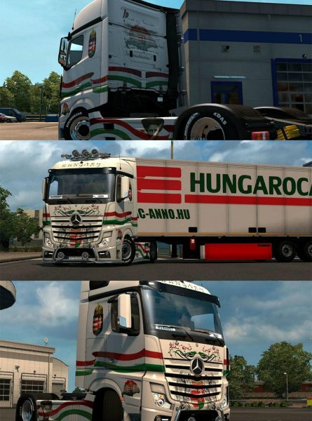 Mercedes MP4 Hungary Skin 1.23