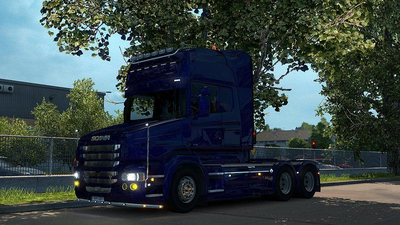 Scania T Mod v1.8.2 for ETS2 version 1.24