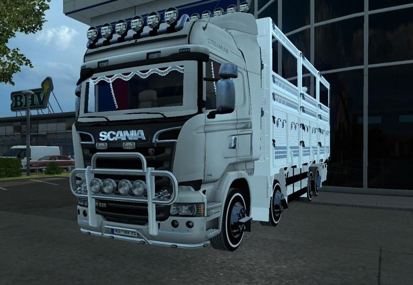 Simple and Stylish Scania Streamline Pick-Up 1.23-1.24