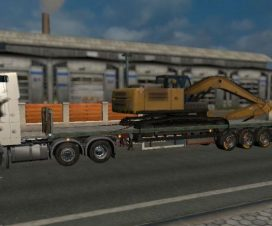 150 Tons Trailer