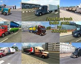 American Truck Traffic Pack by Jazzycat  v1.3.1
