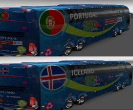 Bus Marcopolo G7 1600LD Group F Teams Official Buses