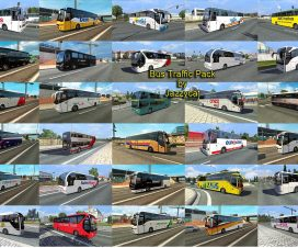 Bus traffic pack Jazzycat v1.3.2