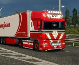 DAF XF by 50k v3.7