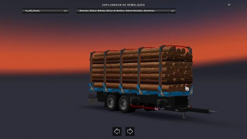Forestry trailer 1.24
