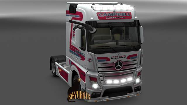 Mercedes Benz New Actros Campbell skin 1.24