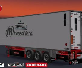New Cargo, Trailer Chereau + Thermo King