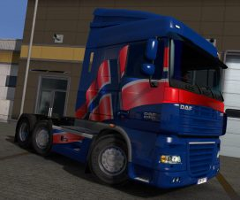 Norwegian Paint Jobs Pack for DAF XF by 50k