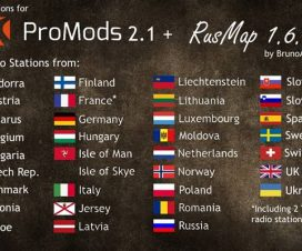 Radio Stations for Promods