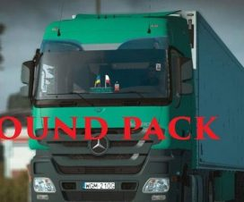 Real Actros Sound Pack