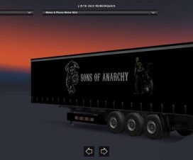 Trailer Motorbikes and parts for SOA