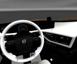 Volvo 2012 White Black Interior