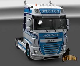 DAF XF E6 by Ohaha Hohner Spedition skin 1.25