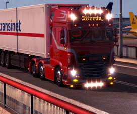 DAF XF106 Weeda + D-TEC Container Pack