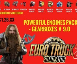 Pack Powerful engines + gearboxes v9.0 for 1.26