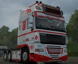Time Bandit Skin for DAF XF 105 by Stanley