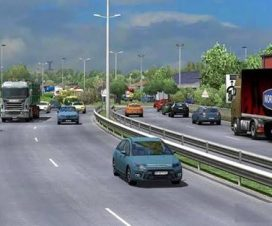 Traffic density mod for ETS2 1.26