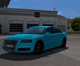 Audi A8 By Diablo Upgrade + Template.