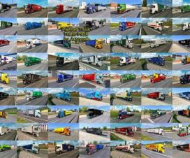 Painted Truck Traffic Pack by Jazzycat v2.7