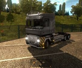 Renault Magnum 6×4 Chassis US CAT 660 Modifier
